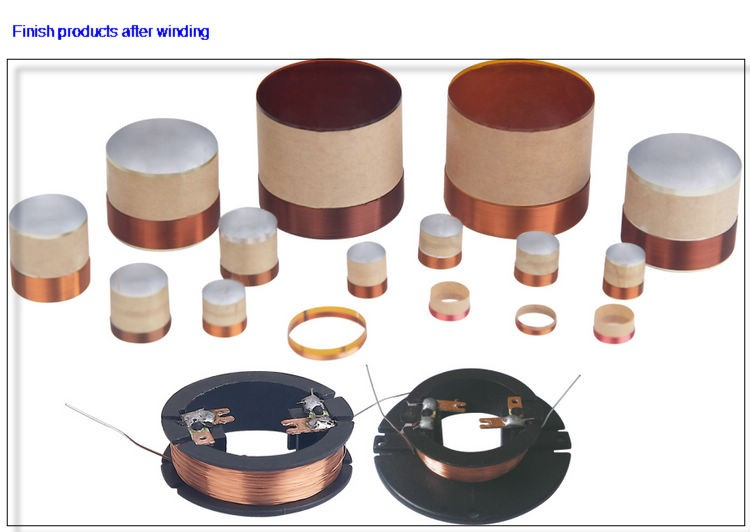Big speaker voice coil winding machine