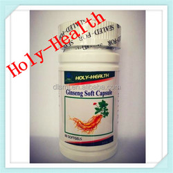 herbal extract food supplement HALAL korean red ginseng softgel