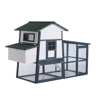 Deluxe Large Backyard Chicken Coop / Hen House