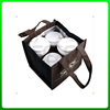 Good quality cheapest bottle wine cooler bag with gel inside