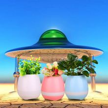 2017 FashionalI Indoor Smart Music Flower Pot , Speaker Piano Song Plant Flower Pot
