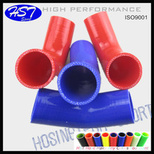 Intercooler silicone hose 45 degree bend silicone tube /pipes