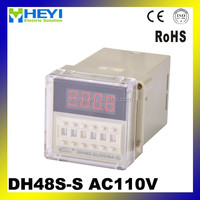 Digital Relay Timer cycle time relay 1m~99m 110 volt timer