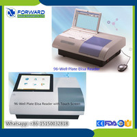 Clinical / Hospital Microplate Reader / Elisa Reader and Washer with Color LCD Screen