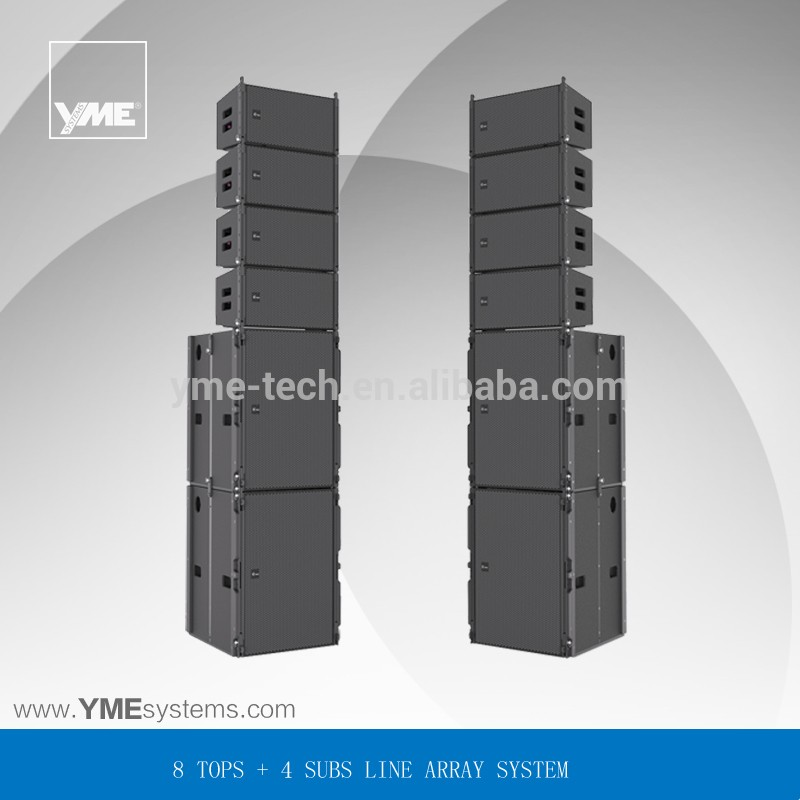 OUTDOOR Passive Line Array Speaker Professional Loudspeaker pro sound speaker