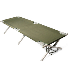 Outdoor portable army camping military folding travel bed for adults made in China