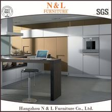 multi color optional acrylic UV PVC melamine MDF l shaped modular kitchen cabinet designs of kitchen hanging cabinets