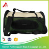 China Manufacture Wholesale 600D polyester plastic dog carrier / pet cage