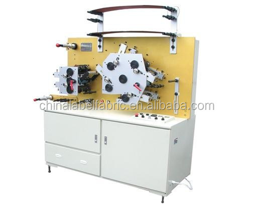Six Colors Double Side Flexographic Care Label Printing Machine