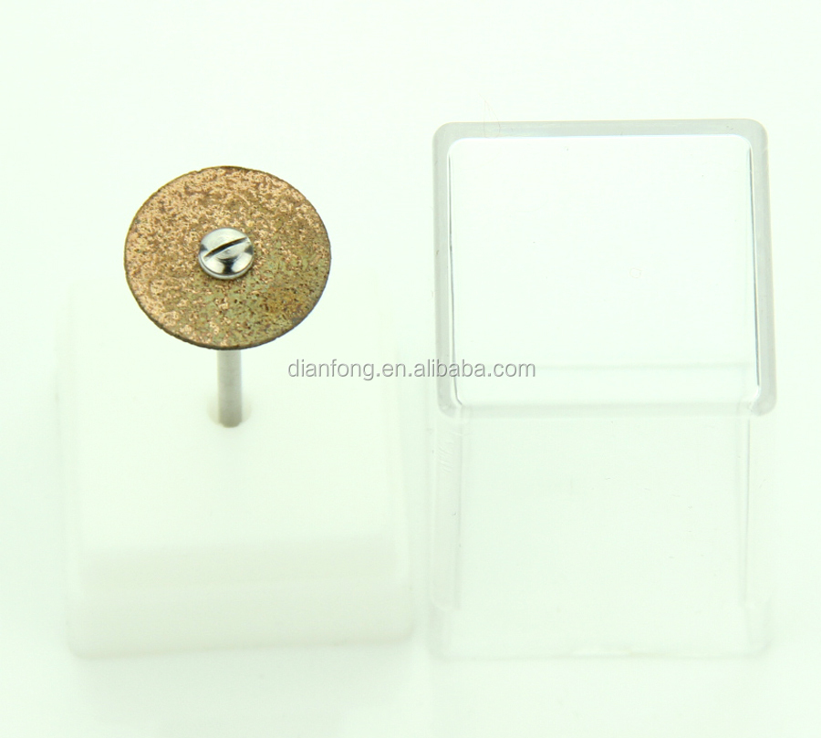 lab mini diamond cutting dental disc