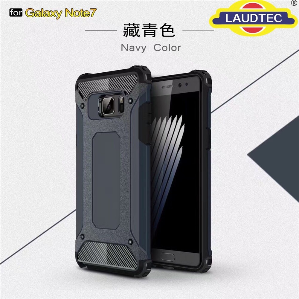 soft tpu hard pc combo bumper back case for samsung galaxy note 7