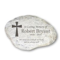 Durable Resin Real Stone Look Pet Memorial Stone Tombstone Factory Prices Headstone