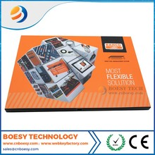 Promotional lcd video brochure card/Lcd video book in printing