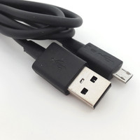 special for blackberry black charging cable V8 connector USB line
