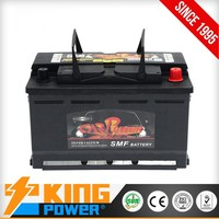 KING POWER Rechargeable Lead Acid Maintenance Free Auto battery 12V72AH 57219MF car battery
