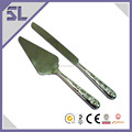 Wholesale Stainless Steel Cake Knife Set Flowers Engraved Cake Server Cake Cutter And Server Supplier