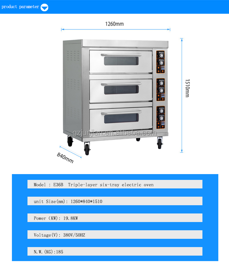 commercial stainless steel used pizza oven for sale