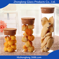 Factory Price Top Brand Glass Honey Jars With Wooden Lid