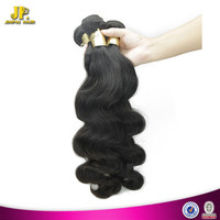 JP Hair Machine Made Weft 100% Human Hair Wholesale Virgin Eurasian Body Wave Hair