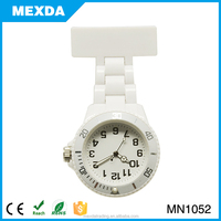 plastic cheap pin watches hot selling nurse doctor medical watch