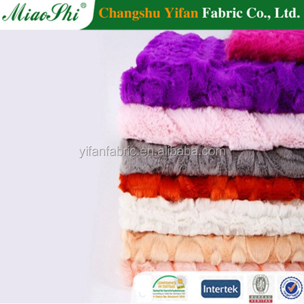 cheap double sided quilted warp knitted fabric roll