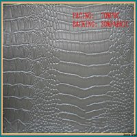 special crocodile PVC fashion leather