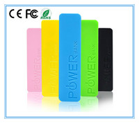 2600mah portable rechargeable Power bank for mobile phone digital devices