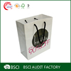 Cheap custom made shopping paper bags with handle
