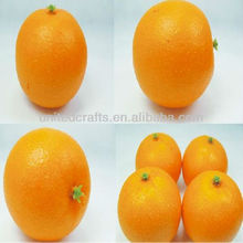 fake orange/artificial orange,artificial fruit for home decoration ,artificial vegetable for party decoration