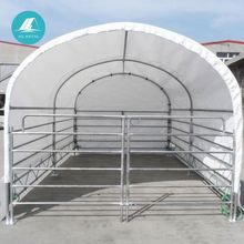 custom roof top frame fabric steel structure building tent residential building