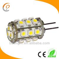 Wholesale mini smd 18leds g4 car led spot light 12v 1.5W warm white