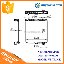 Radiator Supplier 21400-03Z01 for Truck Cooling System