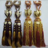 curtain accessories 2018 new product curtain tassels tie back