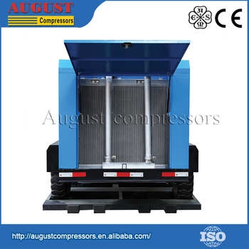 China Factory Direct Portable Screw Air Compressor