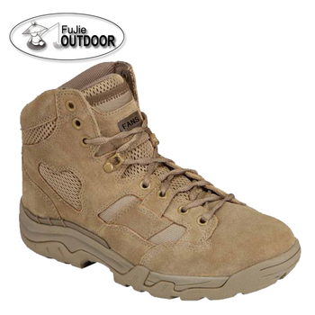 "6"" Coyote Brown Tactical Combat boot Jungle Military boots"