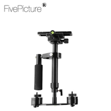 S40 Professional Handheld Stabilizer Steadicam for Camcorder Digital Camera Video Canon Nikon DSLR Mini Steadycam