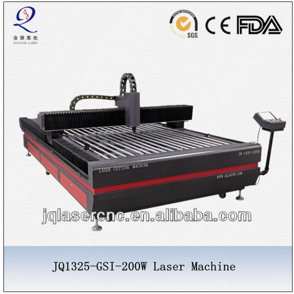 Stainless steel garbage can cutting machine with fiber laser