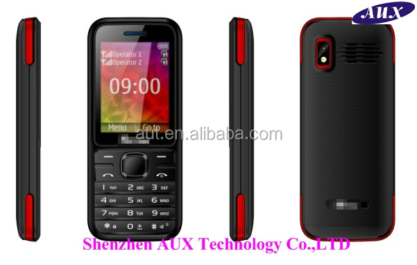Low-end 2.4 inch dual sim cell phone X168 TV mobile phone with camera