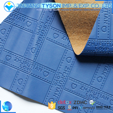 Most popular bag material letter pattern pvc synthetic leather roll