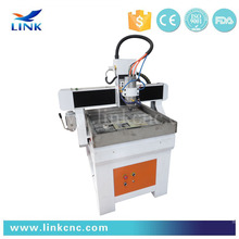 High efficiency !! Jinan Link LXS0609 cnc router with Taiwan TBI bal screw / New product multi spindle 3d cnc router