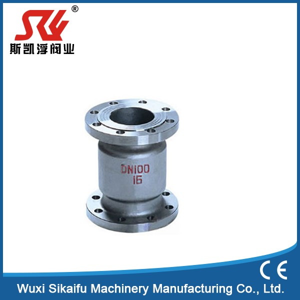 "China manufacturer 1/4""-4"" CF8M vertical lift check valve"