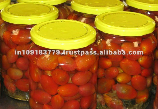 Canned Marinated Cherry Tomato