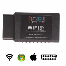 ICar ELM327 WIFI V1.5 OBDII OBD2 Car Diagnostic Tool Case For IPhone IOS Android PC IPad Car