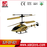 rc helicopter scale fuselage 2013 hot MINI !! alloy helicopter rc 3.5CH w / LED