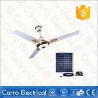 12V dc motor home used ceiling fans with led lights