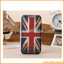 Flag design Leather Cell Phone Case,For Samsung Galaxy S4 Case