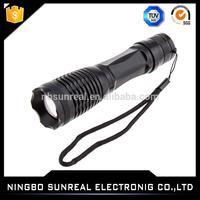 2016 aibaba china New 9V battery police LED torch flashlight