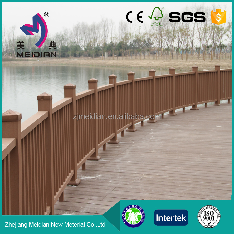 Environmental friendly Top Quality wpc cheap deck railing