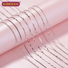 Chain Necklace 925 Sterling Silver Jewelry Women Jewellery