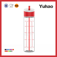 pctg plastic drinking water bottle